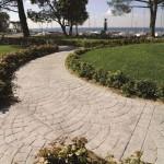Pavimento Stampato per giardini