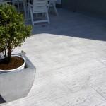 Cemento Stampato effetto legno Venezia