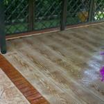 Pavimento stampato effetto legno Pordenone