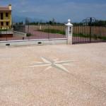 Pavimento SassoItalia® decorato