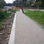 Pavimentazione per giardini pubblici